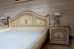 Купить Комод в стиле прованс на заказ - комбинированный, комод, мебель на заказ, роспись мебели