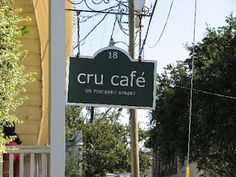 Cru Café, Charleston, SC #charleston #restaurants