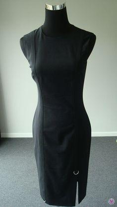 Clotheswap - Versace Dress Excellent Condition Hourglass Body Shape, Versace Dress, Body Shapes, High Neck Dress, Feminine, How To Wear, Clothes, Dresses, Fashion