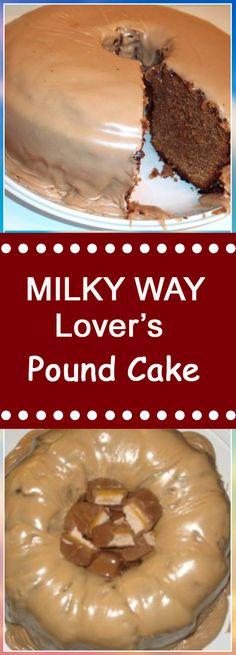 MILKY WAY Lover's Pound Cake