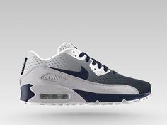 Nike Air Max 90 EM (FFF-France) iD Shoe. Nike Store 2014 1f34b8012c962