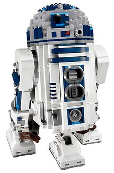 Lego is a great gift for any lego and or a star wars fan. is an iconic figure that makes an excellent lego model. Lego Star Wars, Star Trek, Geeks, Lego Robot, Robots, Lego Droid, Buy Lego, Lego Worlds, Lego Design