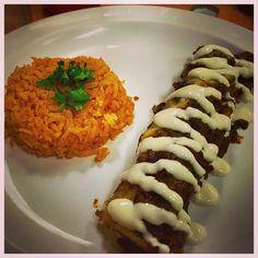 #Chicken #Enchilada #Mole again a delicious #Authentic #Mexican dish! El Borrego on El Cajon in #SanDiego #California is on #Fleek with their food! #Food #FoodPorn #Foodie #Foodgasm #NomNom #Yummy #Hungry #Instafood #WitchinInTheKitchen #YouStayHungrySD #TastingSanDiego #OmNomNom #Organic #GoodEats #FoodPics #Foodstagram #SDFoodDiaries by @witchininthekitchen