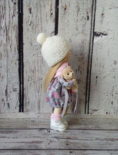 Rag doll Tilda doll Cloth Art doll handmade by AnnKirillartPlace