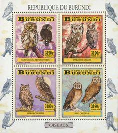 BUR 14103 aOwls Owls, Stamps, Comic Books, Comics, Art, Seals, Art Background, Drawing Cartoons, Comic Book