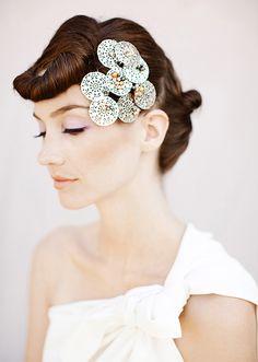 Glamorous bridal makeup and hairstyles | Gucio Photography | 100 Layer Cake