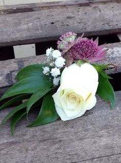 Buttonhole by Miss Mollie's Flowers