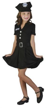 Polis Kostümü, Kız Çocuk 7-9