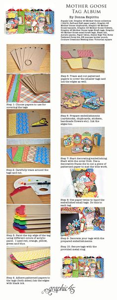 Mother Goose Tag Album Donna Espiritu Graphic 45