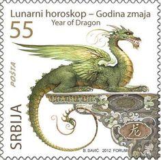 Dragon Stamp