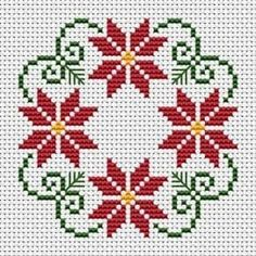 styled Christmas wreath cross stitch patter with three colors: green Beautiful styled Christmas wreath cross stitch patter with three colors: green, . -Beautiful styled Christmas wreath cross stitch patter with three colors: green, . Biscornu Cross Stitch, Cross Stitch Borders, Cross Stitch Charts, Cross Stitch Designs, Cross Stitching, Cross Stitch Embroidery, Cross Stitch Flowers Pattern, Hand Embroidery, Embroidery Ideas