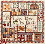 Take Time to Quilt -- Autumn by Jeannette Douglas Designs