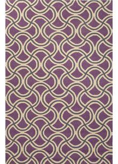 Barcelona I-O Dahlia Purple/Paloma Polypropylene Rug
