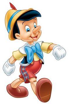 Pinocchio de Disney à la main d'inspiration bébé par OhSoVeryKnotty