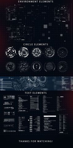 Sci-fi interface HUD on Behance