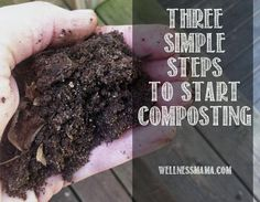 Three simple steps to start composting and why you should want to