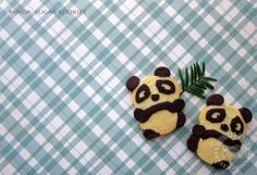 Panda Cookies (Victoria Bakes - Baking Into The Ether), with shaping link