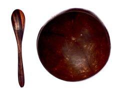 Coconut Bowl & Sono Spoon Combo