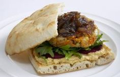 Make your own lentil burgers
