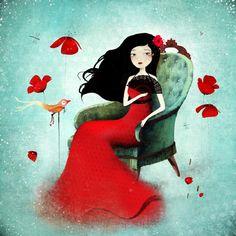 I love the whimsical art of Anne-Julie Aubry