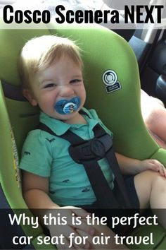 cosco scenera next review best car seat for air travel
