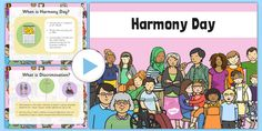 This handy PowerPoint presentation is perfect for promoting cultural diversity and celebrating Harmony Day. Shark Activities, Craft Activities, Parent Resources, Teaching Resources, Teaching Ideas, Harmony Day Activities, Classroom Displays, Classroom Ideas, National Symbols