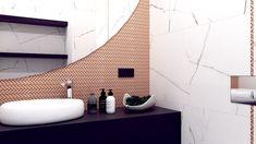 Mała łazienka w dwóch odsłonach - Malaga, Bathroom Lighting, Mirror, Home Decor, Bathroom Light Fittings, Bathroom Vanity Lighting, Decoration Home, Room Decor, Mirrors