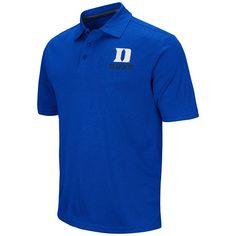 Men's Campus Heritage Duke Blue Devils Heathered Polo, Size: Medium, Med Blue