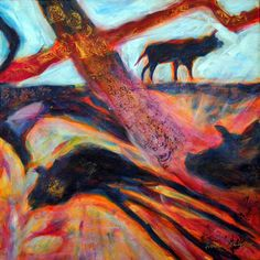 Suzanne Edminster - love the use of color, the layers and the looseness