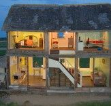 Farmhouse/Dollhouse, by Heather Benning, 2005