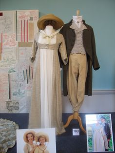 1995, 'Sense & Sensibility', costumes designed by Jenny Beavan and John Bright. Dressing the Stars exhibition at Bath Assembly Rooms, 2011.