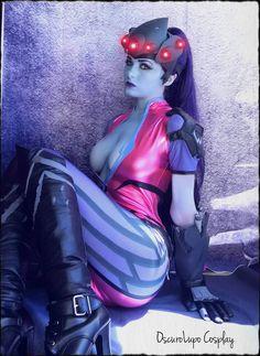 Come to My Parlour by OscuroLupoCosplay.deviantart.com on @DeviantArt - More at https://pinterest.com/supergirlsart #widowmaker #overwatch #sexy #cosplay #girl