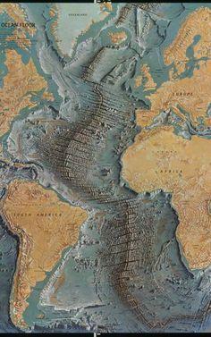 Marie Tharp apostou que seus mapas falariam por si só, já que os cientistas da época duvidavam de sua palavra