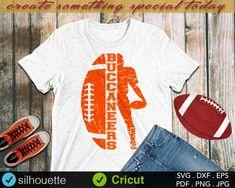 Football Tshirt Designs, Football Mom Shirts, Football Cheer, Football Design, Football Stuff, Football Boys, Baseball, Sports T Shirts, Cheer Shirts
