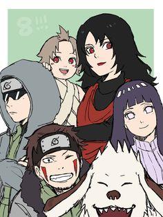 Hinata Hyuga, Naruhina, Naruto Uzumaki, Anime Naruto, Asuma And Kurenai, Kiba And Akamaru, Naruto Sasuke Sakura, Naruto Cute, Naruto Funny