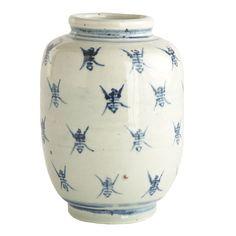 Longevity Porcelain Pot