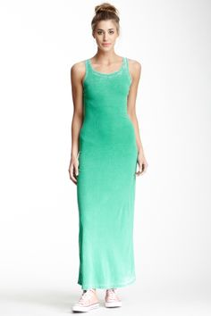 green maxi + all stars....reminds me of my daughter!