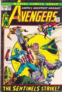 The Avengers No. 103