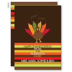 Ready for Turkey Thanksgiving Cards