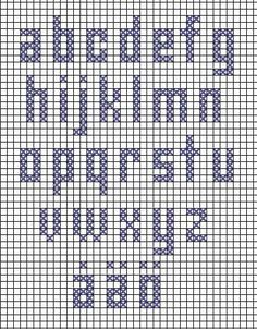 Embroidery Letters Patterns Alphabet Fonts Ideas For 2019 Cross Stitch Alphabet Patterns, Embroidery Alphabet, Cross Stitch Letters, Letter Patterns, Cross Stitch Baby, Embroidery Fonts, Stitch Patterns, Cross Stitching, Cross Stitch Embroidery