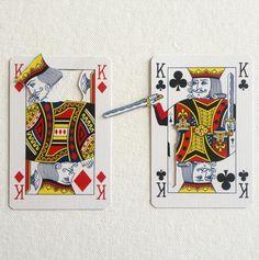 playing card art by Elmo Hood