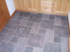 Kitchen TILE Floor WITH COLORED GROUT   Ceramic and porcelain floor tile installation and remodeling experts ...