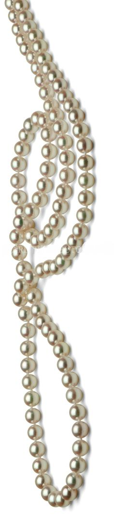 Reminds me of the Pearl Rope I won as a prize as a Mary Kay Star Consultant ~ Cindy Changh (Akoya pearl rope Japan) Pearl Jewelry, Jewelery, Jewelry Necklaces, Pearl Necklaces, Pearl And Lace, Pearl White, Bracelets, Bling, Elegant