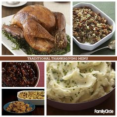 Traditional Thanksgiving Celebration  #myplate #thanksgiving #holidays #turkey