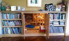 Ya da çocukların daha çok bayılacağı böyle bir oda