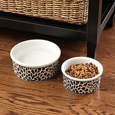 Leopard Pet Bowl