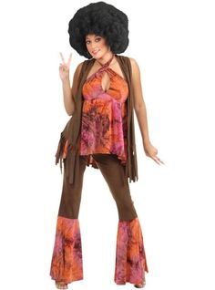 Adult San Francisco Hippie Costume