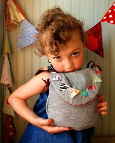 Kids Festive Messenger Bag by rompshop on Etsy