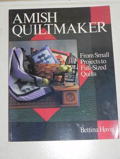 Amish Quiltmaker by Bettina Havig by baublesandblingforu on Etsy, $5.00