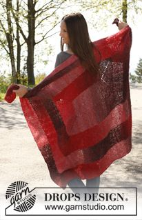Free Knitting Pattern - Afghans & Blankets: Cranberry Maze